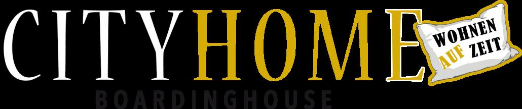 Logo City Home Boardinghouse weiß Boardinghouse City Home Bielefeld Apartments Wohnen auf Zeit