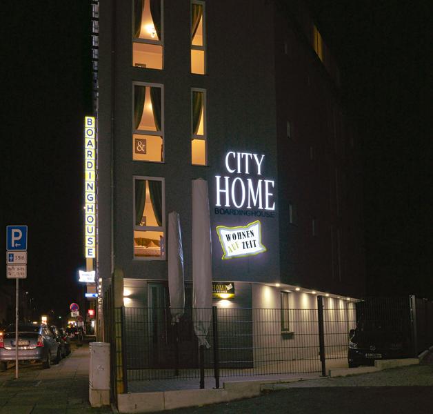 Außenansicht Boardinghouse City Home Bielefeld Apartments Wohnen auf Zeit