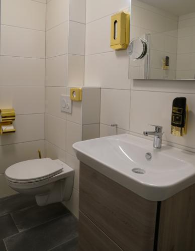 Penthouse Deluxe Bad Boardinghouse City Home Bielefeld Apartments Wohnen auf Zeit
